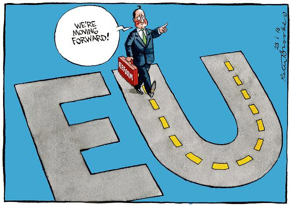 A Freight Train of Opposition: The EU Vote.